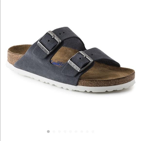 dc43ac4fb4d Birkenstock Shoes - Birkenstock Arizona Stone Grey